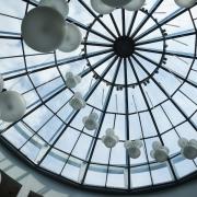 Hol centralny budynku Wydziału Nauk Społecznych